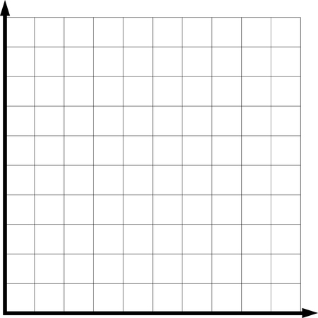 two math axis empty graphic for yours usage