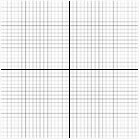 two math axis empty graphic for yours usage Illustration
