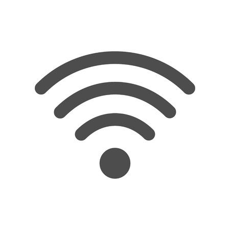 internet standart wifi icon on white background vector