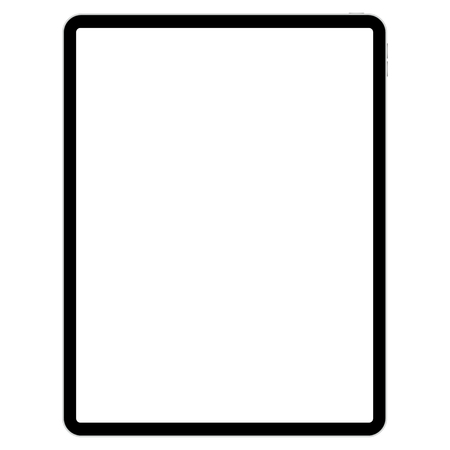 drawing pad for illustrators on white background vector