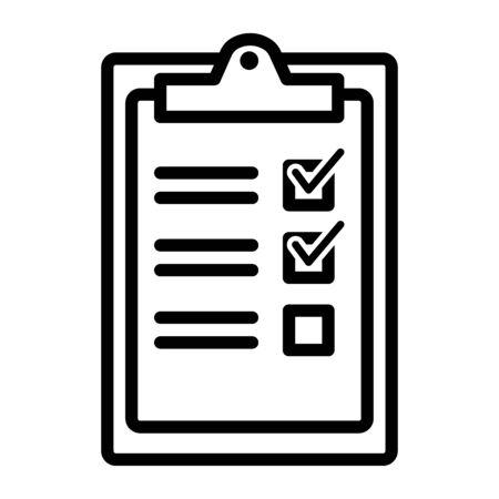 check list concept icon modern concept vector illustration