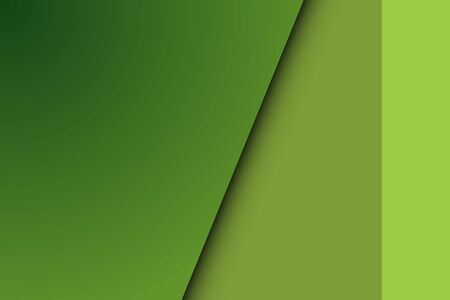 Modern cover design with green background flat christmastree