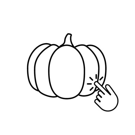 Modern pumpkin icon, great design for any purposes. 向量圖像