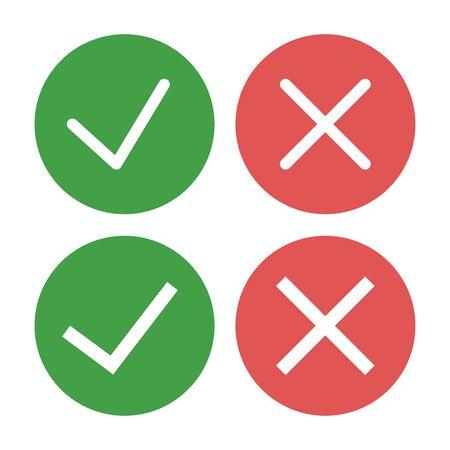 Check mark vector illustration icon, approved ok symbol 向量圖像
