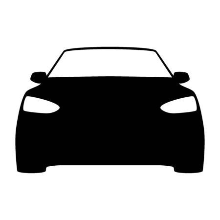 modern design car icon electrically driven vector illustration