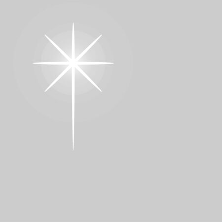Modern christmas star, great design for any purposes.