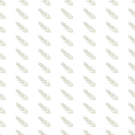 Algae Seamless Pattern. Modern Digital Design. Marine Repeating Pattern. Modern Fashion Scandinavian Style. Contemporary Colors and Design.  Illustration