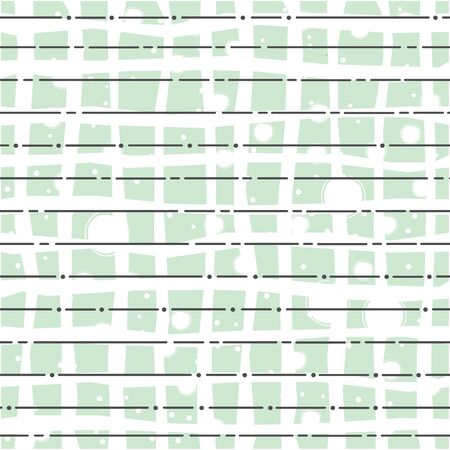 Seamless endless parallel diagonal overlapping pattern on white. Line seamless background. Vector Illustration 矢量图像