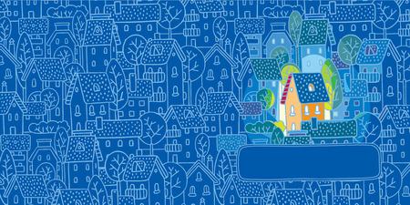 housewarming: Sweet Home  Greeting card