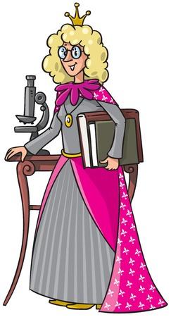 beautyful: Beautyful queen-scientist