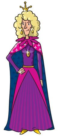 Very thin queen