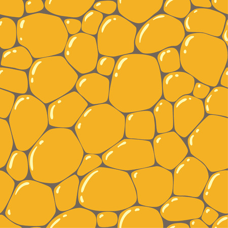 cobblestone street: Seamless pattern or background of paving stones texture with glints