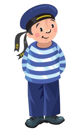 sailors: Happy sailor