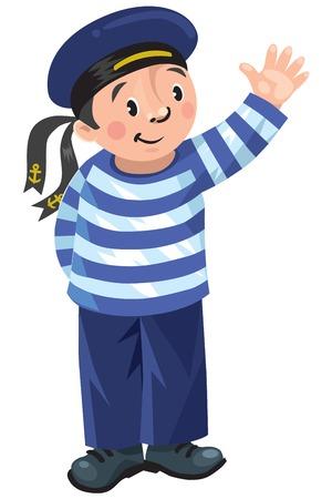 Happy sailor