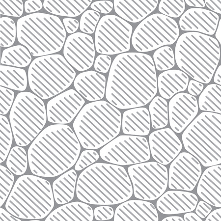 paving stones: Seamless pattern or background of paving stones texture in the style of engraving Illustration