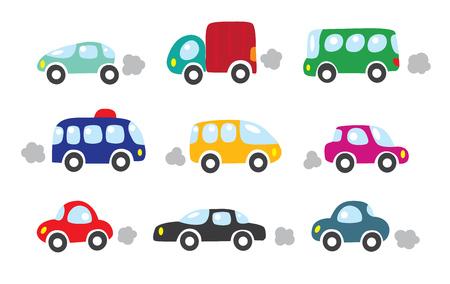 Small cars set