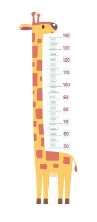 Giraffe meter wall or height chart or wall sticker