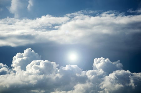 cielo e le nuvole
