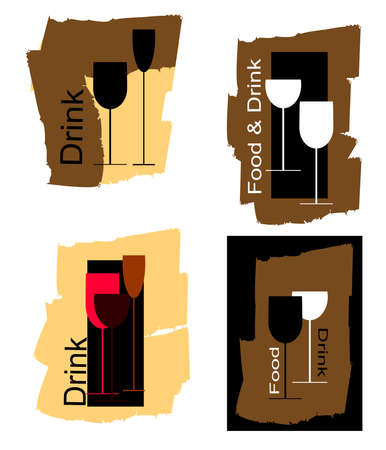 playbill: food and drink Illustration