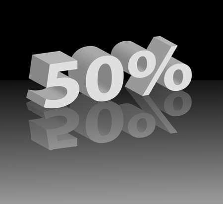 Abbildung 50 mit Reflexion auf Spiegel Stock