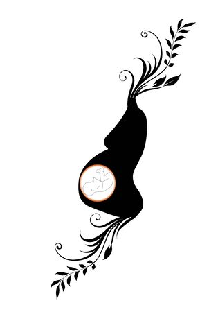 symbol of pregnant woman