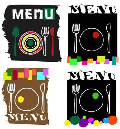 cutlery illustration Çizim