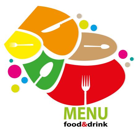 illustration of menu