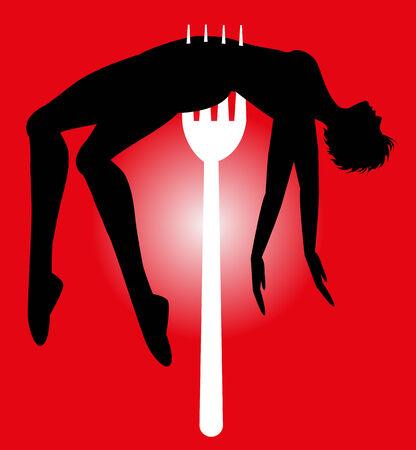 insult: symbolic illustration on violence against women