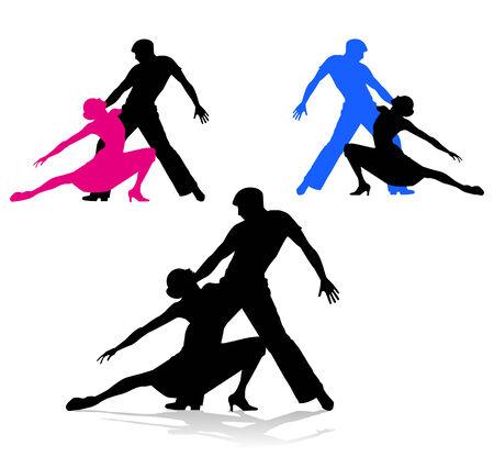 ardor: pareja bailando sobre fondo blanco