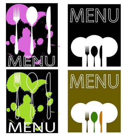 teaches: menu for restaurant or bar