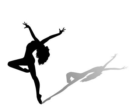 댄서 실루엣