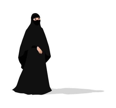 illustration of woman with veil
