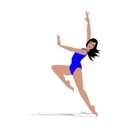 The dancer girl