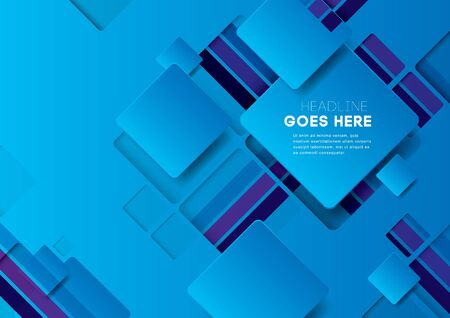abstract: Vector of abstract geometric background