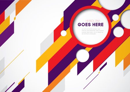 Vector of abstract geometric background