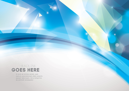 Vector of abstract element and background