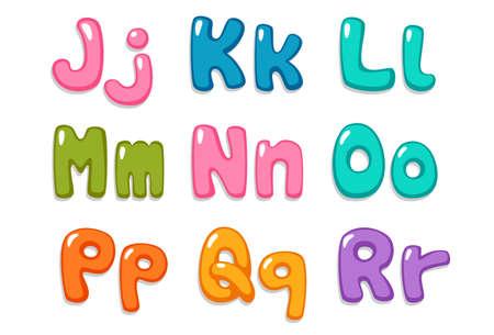 Candy color kid font part 2