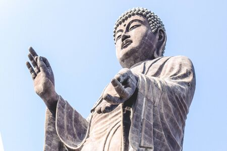 The largest statue in Japan the Bigg Buddha in Ushiku