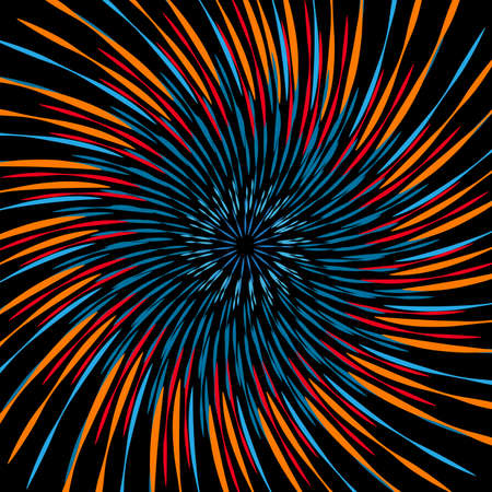 Glowing sparkly spiral Abstract ring background, with colorful swirling backdrop. The energy flow tunnel. shine round frame with light circles light effect. color atoms and electrons. Physics concept