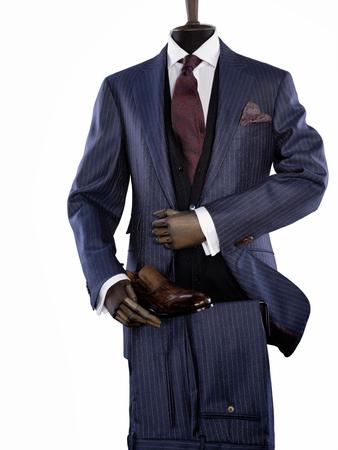 men's clothing: Fashion mens clothing isolated on a white background