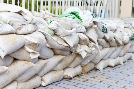 mineralized: Sandbag for Flood Protection