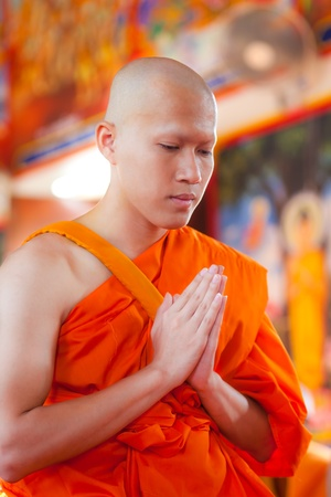 New Monk, Monks ordination ceremony photo