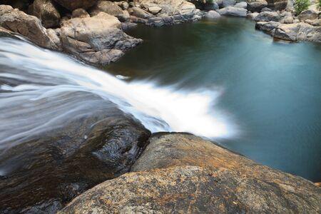 Topview of Waterfall photo