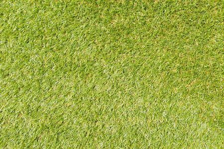 Texture and surface of green turf for sport background photo