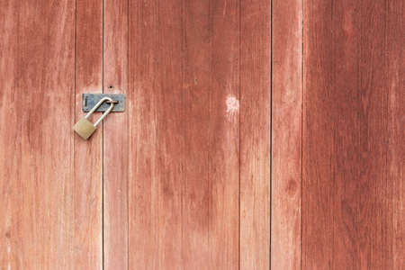 Old wooden door front view Stock Photo - 14369467