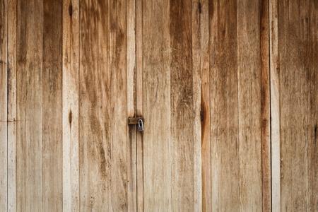 Old wooden door front view Stock Photo - 14369468