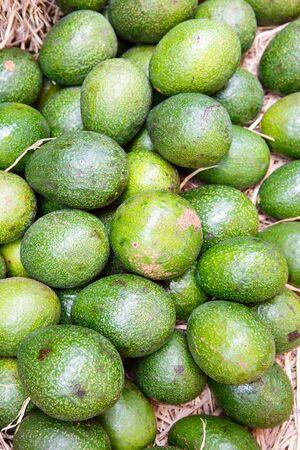 Closeup Avocado photo