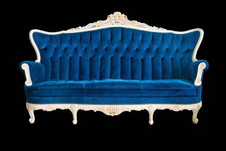 Sofa, Isolated over black