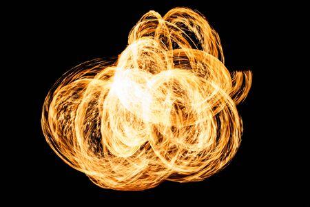 gas barbecue: Fire Stock Photo