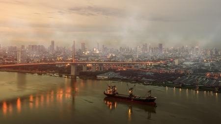contaminacion aire: La contaminación del aire en la ciudad